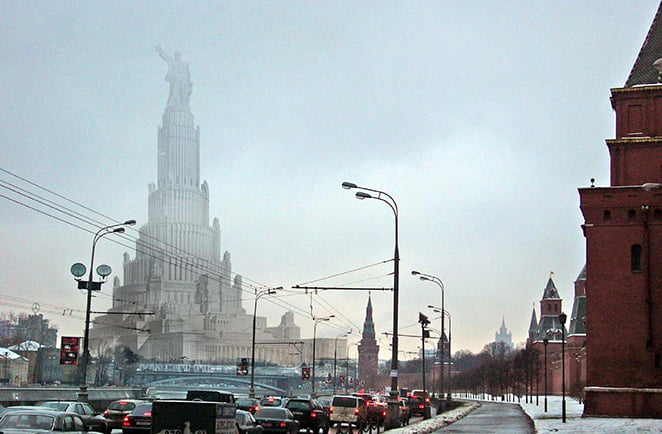 Великий проект СССР Дворец Советов